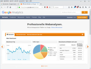 Google Analytics Demo Konto