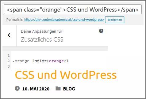 CSS und WordPress
